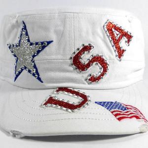 USA Women's Hat Bling