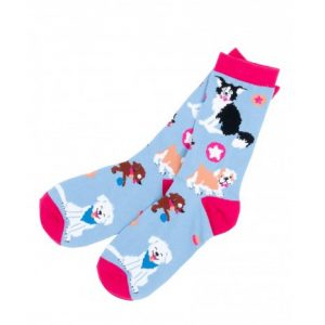 cute-pups-womens-crew-socks
