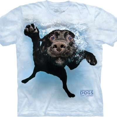 Underwater Dog Image T-Shirts