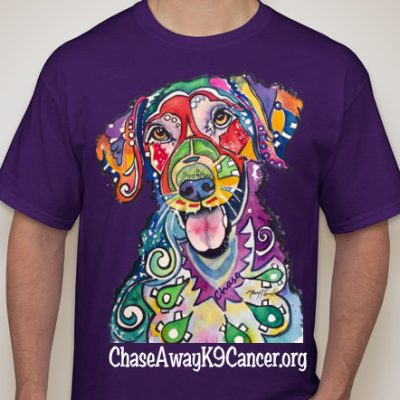 Chase Away K9 Cancer T-Shirts