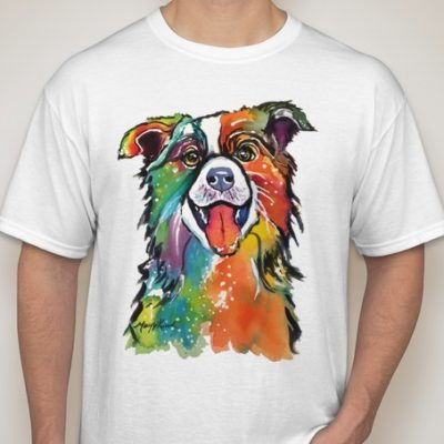 Breed T-Shirts - Printed from Hand Painted Art by Artist Mary J Kirsch