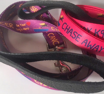 Chase Away K9 Cancer - LEASHES