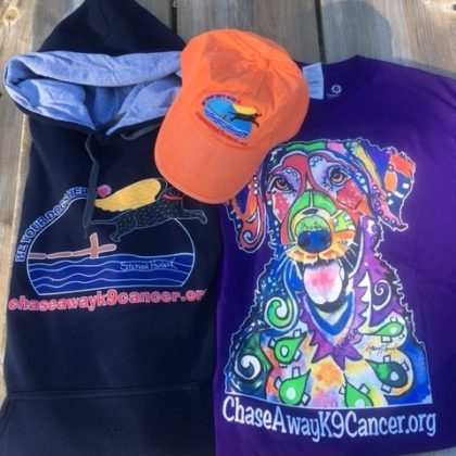 Chase Away K9 Cancer Merchandise