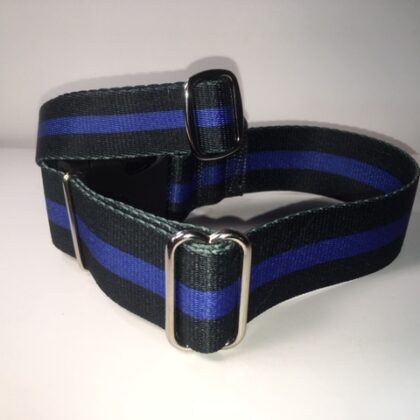 Blue Thin Line - Collars & Leashes